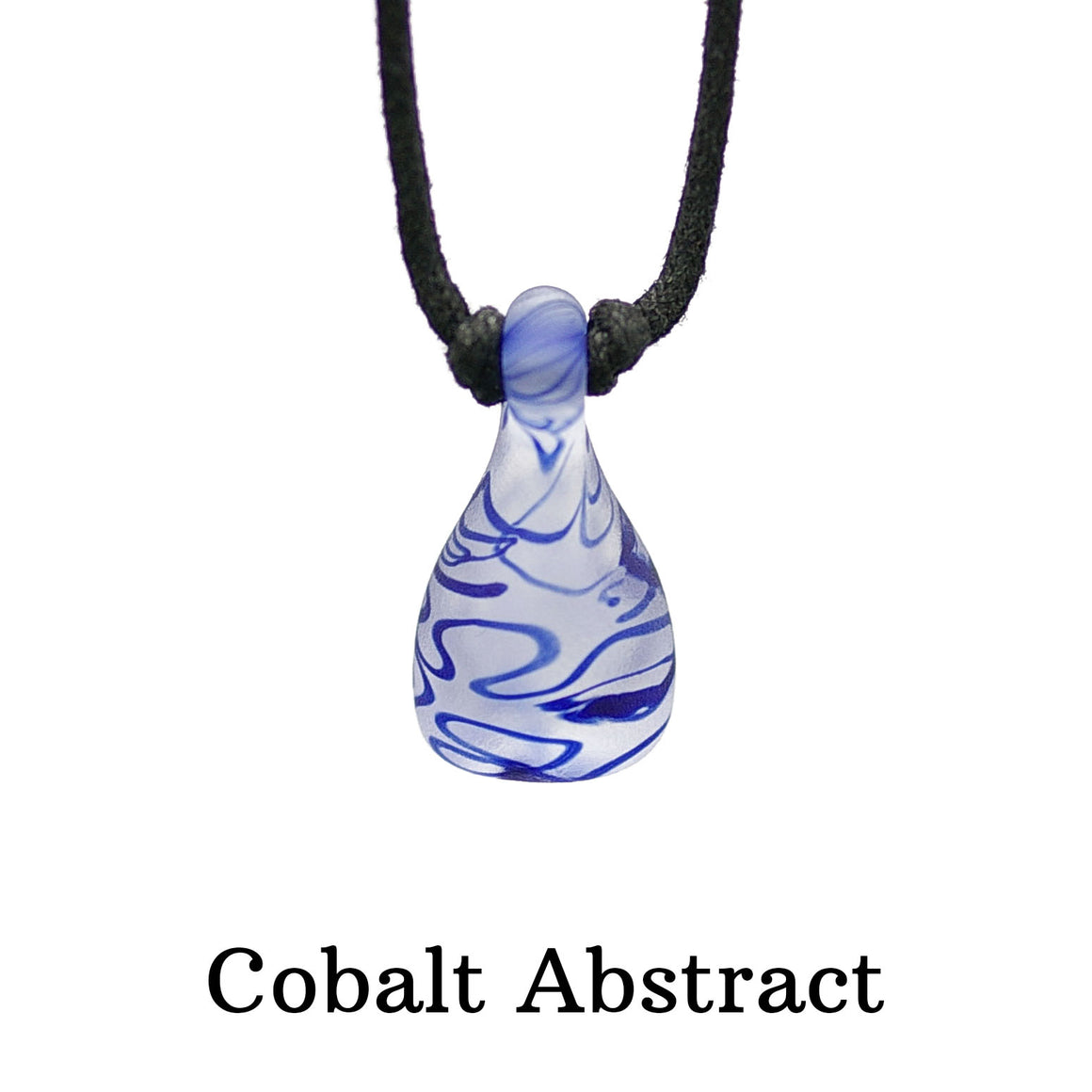 Aromatherapy Pendant, Abstract - Sandblasted