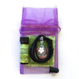 Monthly Bundle, Aromatherapy Pendant + Essential Oil Blend