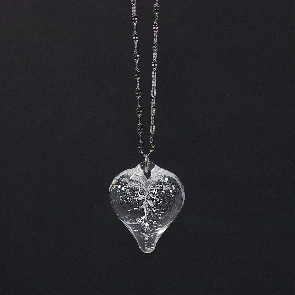 Memorial Keepsakes - Pendant Hearts, Assorted Colors