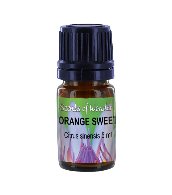 Scents of Wonder Essential Oil, Orange - 5 ml
