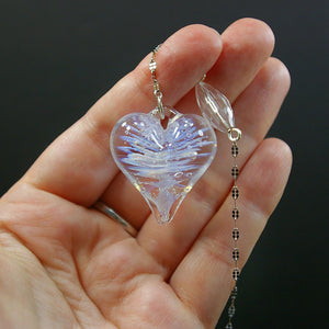 Memorial Keepsakes - Suncatcher Heart