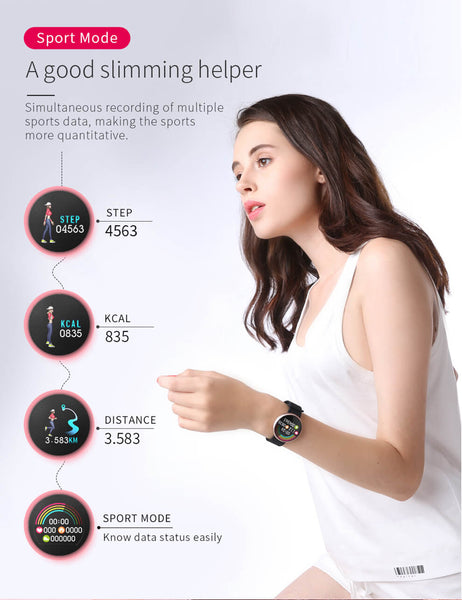BOZLUN B36 LUXURY WOMEN SMART WATCH