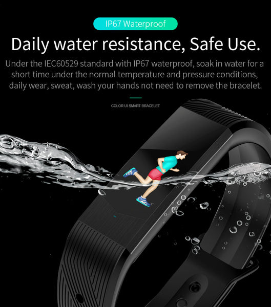 BOZLUN B30 WATERPROOF BLUETOOTH SMART WATCH