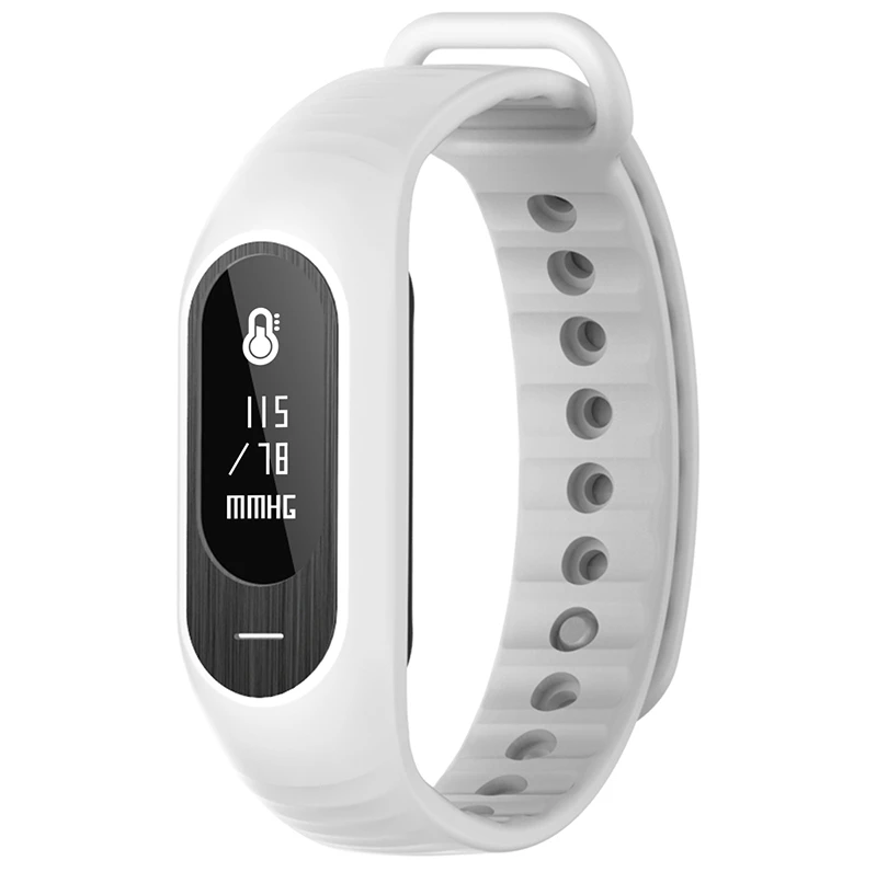 BOZLUN Apparel & Accessories > Jewelry > Watches>Men Watches White BOZLUN B15P Sport Smart Bracelet