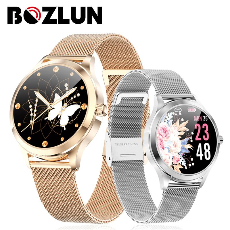 BOZLUN BOZLUN LW07 Health Monitor Fashion SmartWatch Message Whatsapp Reminder Smartwatch Lady Gift