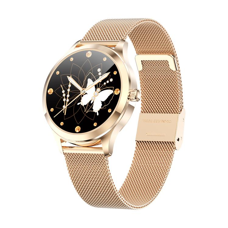 BOZLUN Gold LW07 Health Monitor Fashion SmartWatch Message Whatsapp Reminder Smartwatch Lady Gift