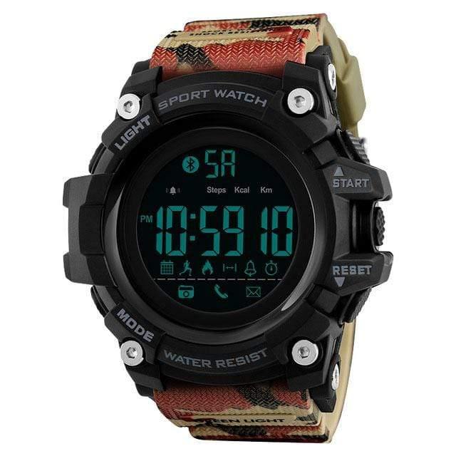 Bozlunofficial Camo BOZLUN 1385 Pedometer Waterproof  Digital  SmartWatch