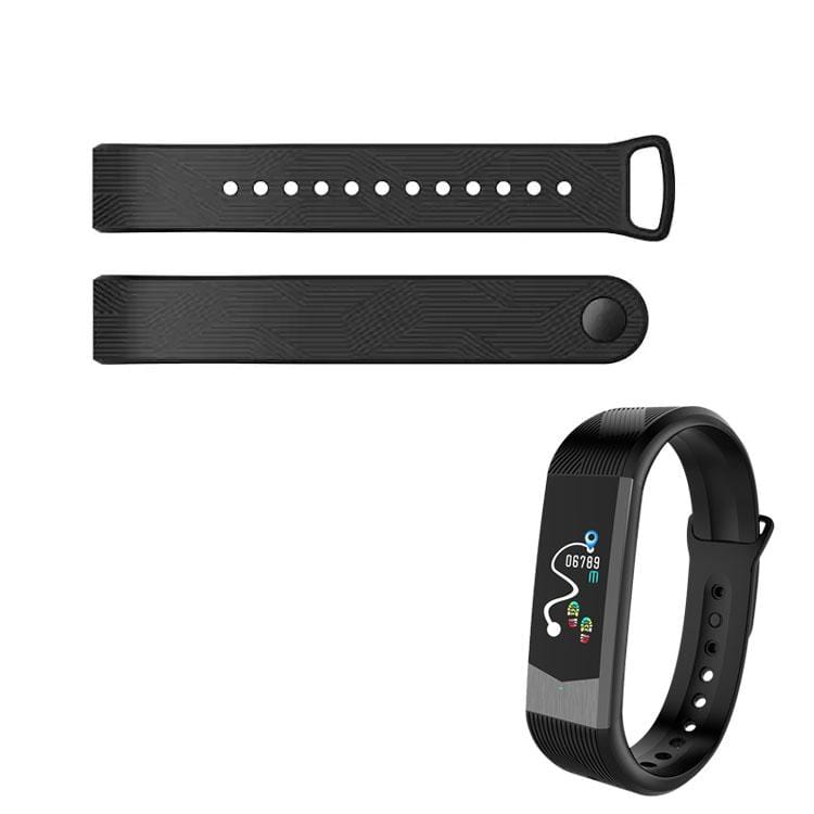 Bozlunofficial B30-Black BOZLUN B30-B31 SmartWatch-Replacement Band
