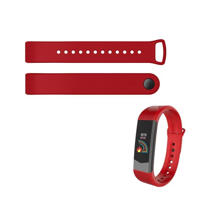Bozlunofficial B30-Red BOZLUN B30-B31 SmartWatch-Replacement Band
