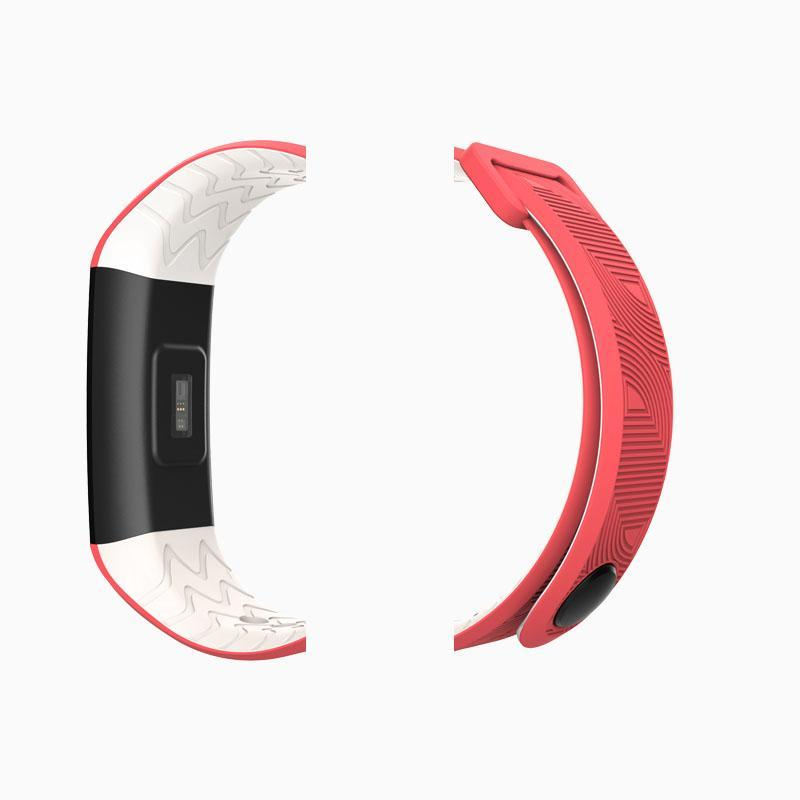 Bozlunofficial B31-Red BOZLUN B30-B31 SmartWatch-Replacement Band