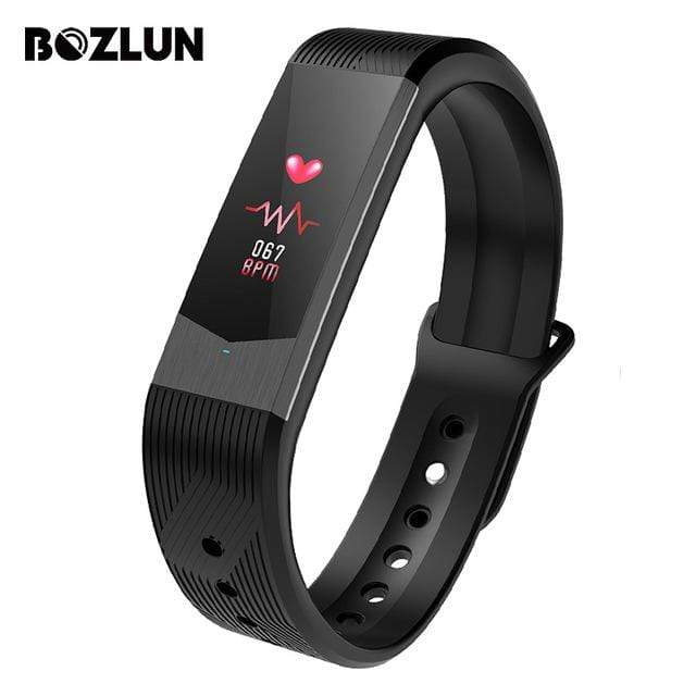 Bozlunofficial Black BOZLUN B30  Waterproof Bluetooth SmartWatch
