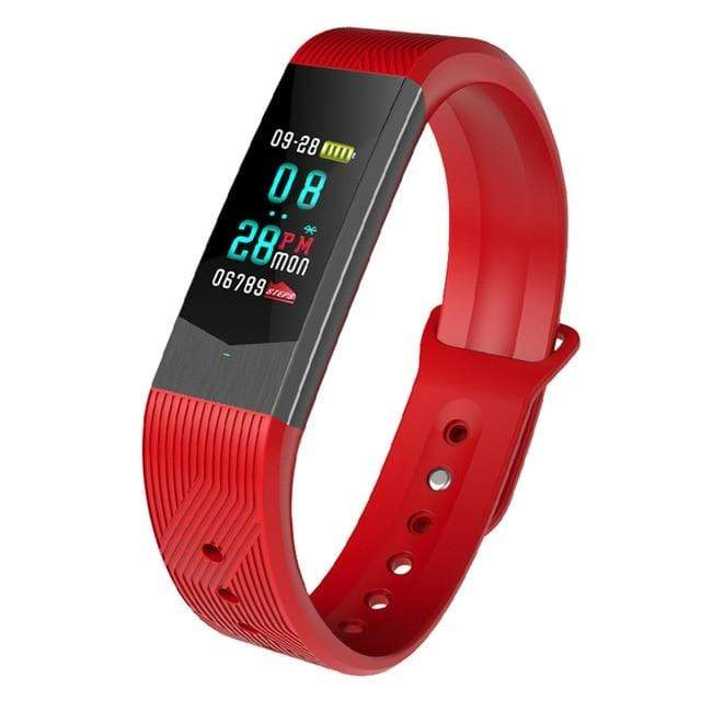 Bozlunofficial Red BOZLUN B30  Waterproof Bluetooth SmartWatch
