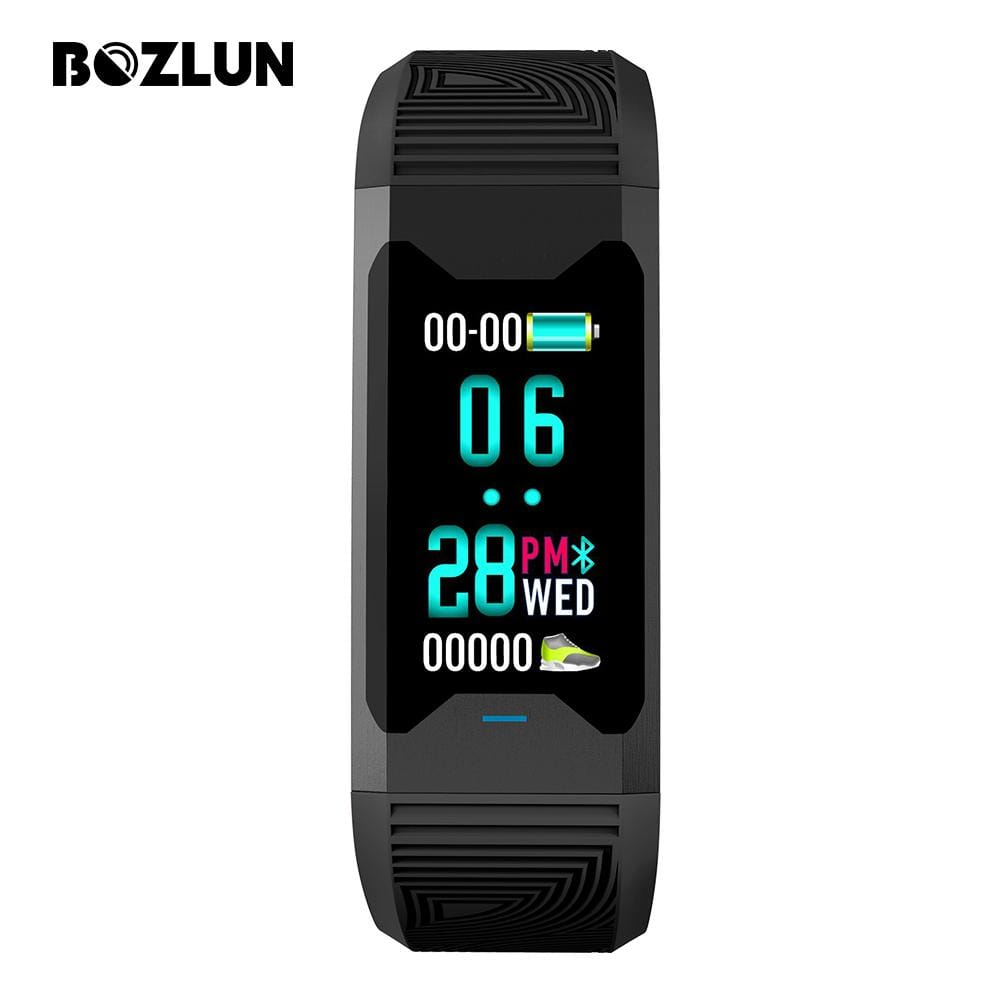 Bozlunofficial Black BOZLUN B31 Blood Oxygen Monitor Smartwatch