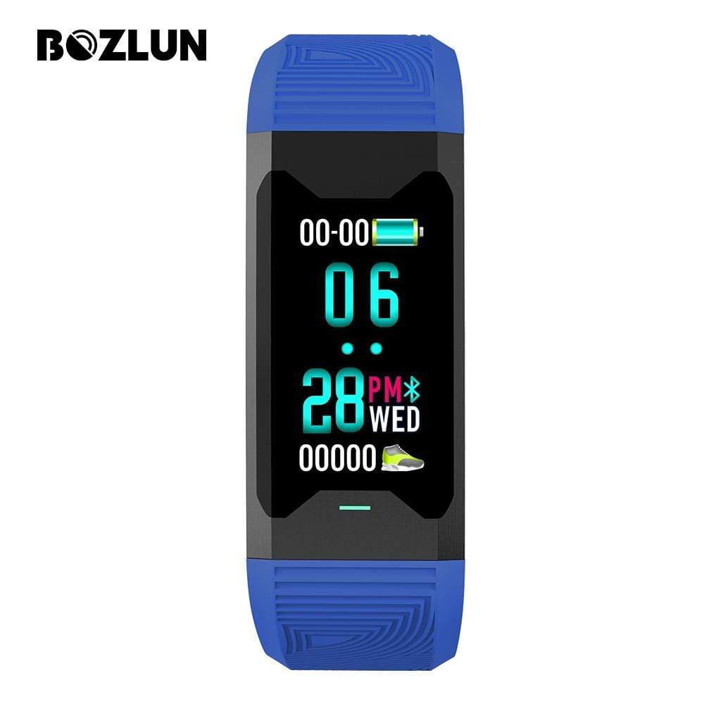 Bozlunofficial Blue BOZLUN B31 Blood Oxygen Monitor Smartwatch
