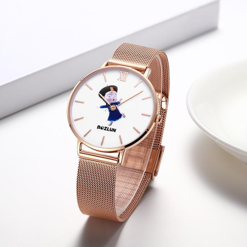 Bozlunofficial Bozlun Chinese Traditional Cartoon Character Watches