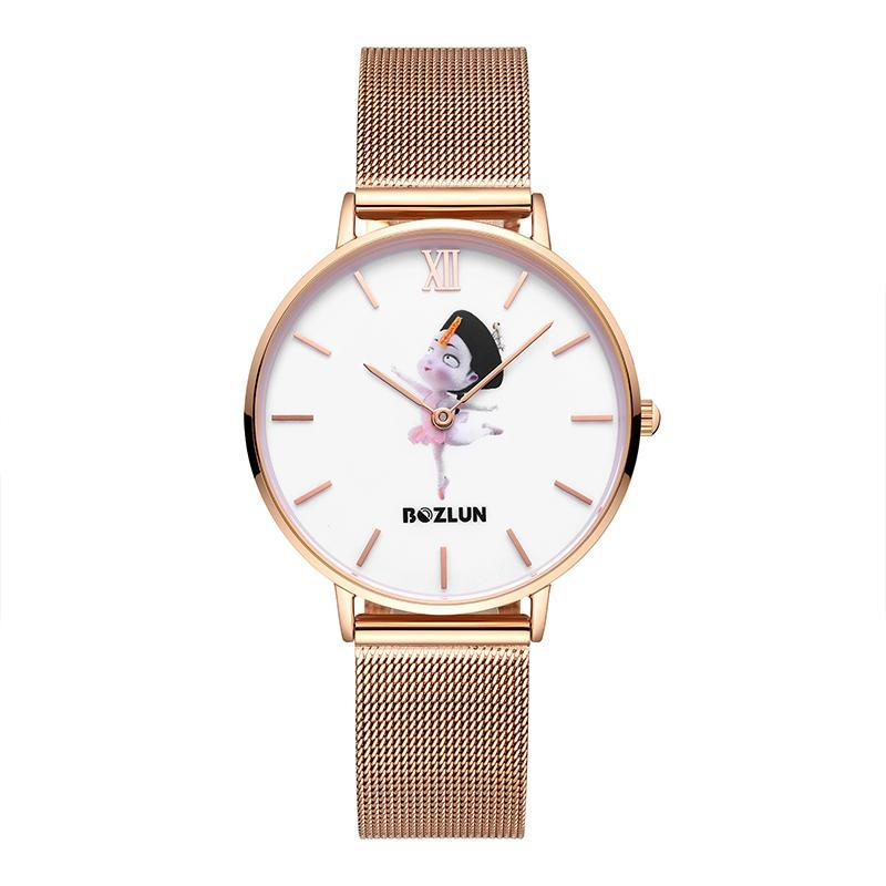 Bozlunofficial Ballet Bozlun Chinese Traditional Cartoon Character Watches