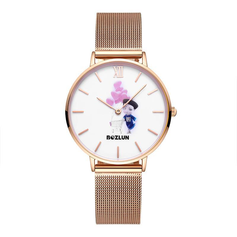 Bozlunofficial Shopping Cart Bozlun Chinese Traditional Cartoon Character Watches