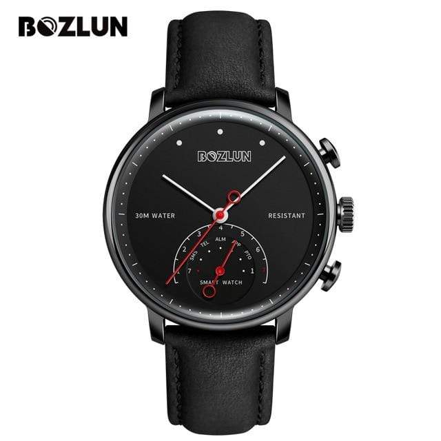 Bozlunofficial Black Black BOZLUN H8 Bluetooth Business SmartWatch