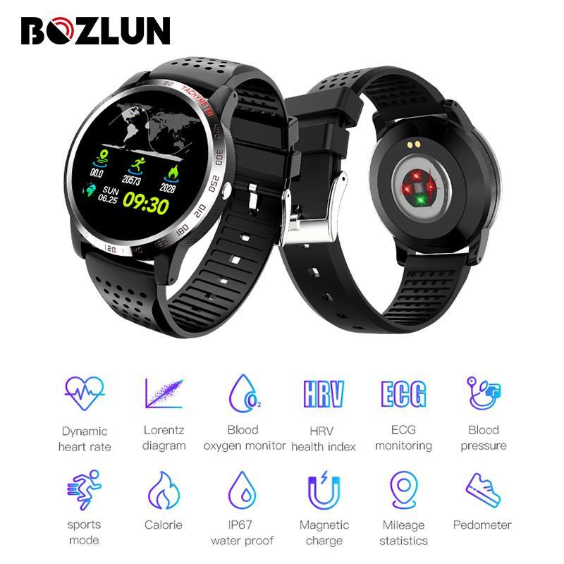 Bozlunofficial BOZLUN W3 Heart Rate -Blood Oxygen Monitor  Wristwatch