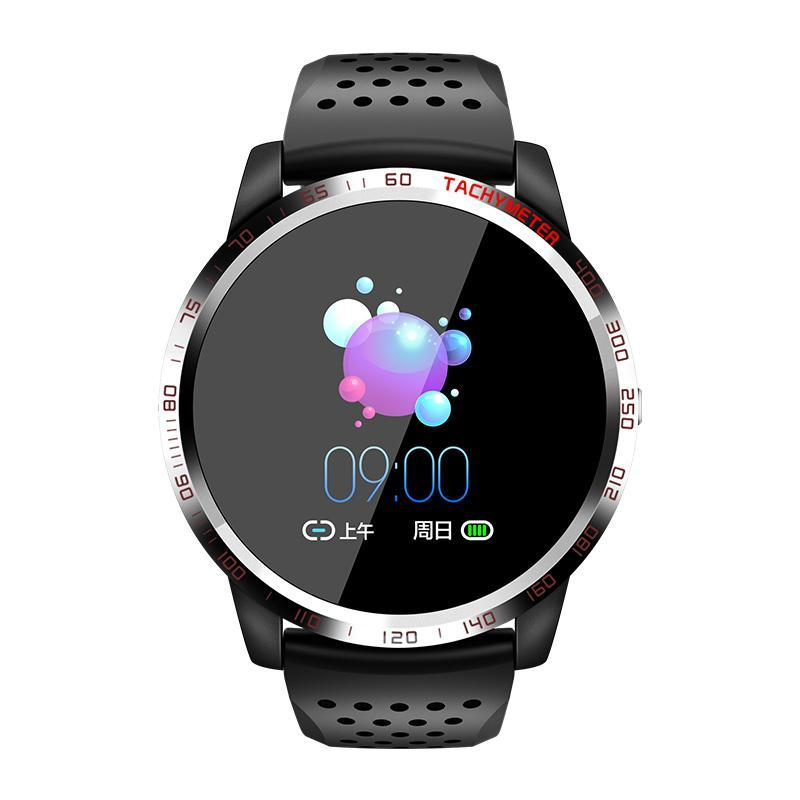 Bozlunofficial Black BOZLUN W3 Heart Rate -Blood Oxygen Monitor  Wristwatch
