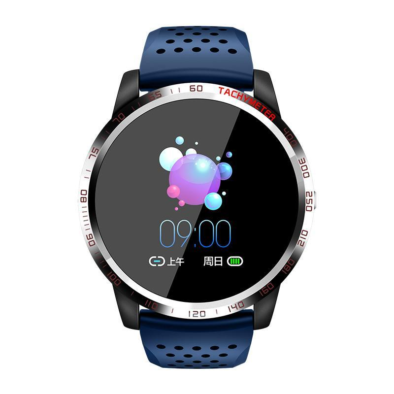 Bozlunofficial Blue BOZLUN W3 Heart Rate -Blood Oxygen Monitor  Wristwatch