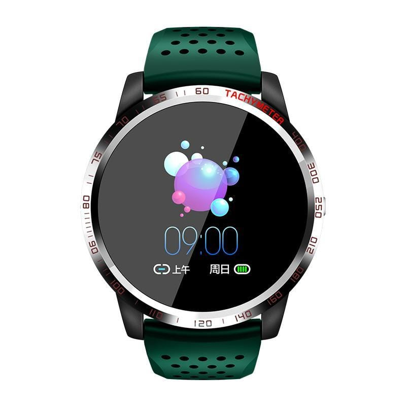 Bozlunofficial Green BOZLUN W3 Heart Rate -Blood Oxygen Monitor  Wristwatch