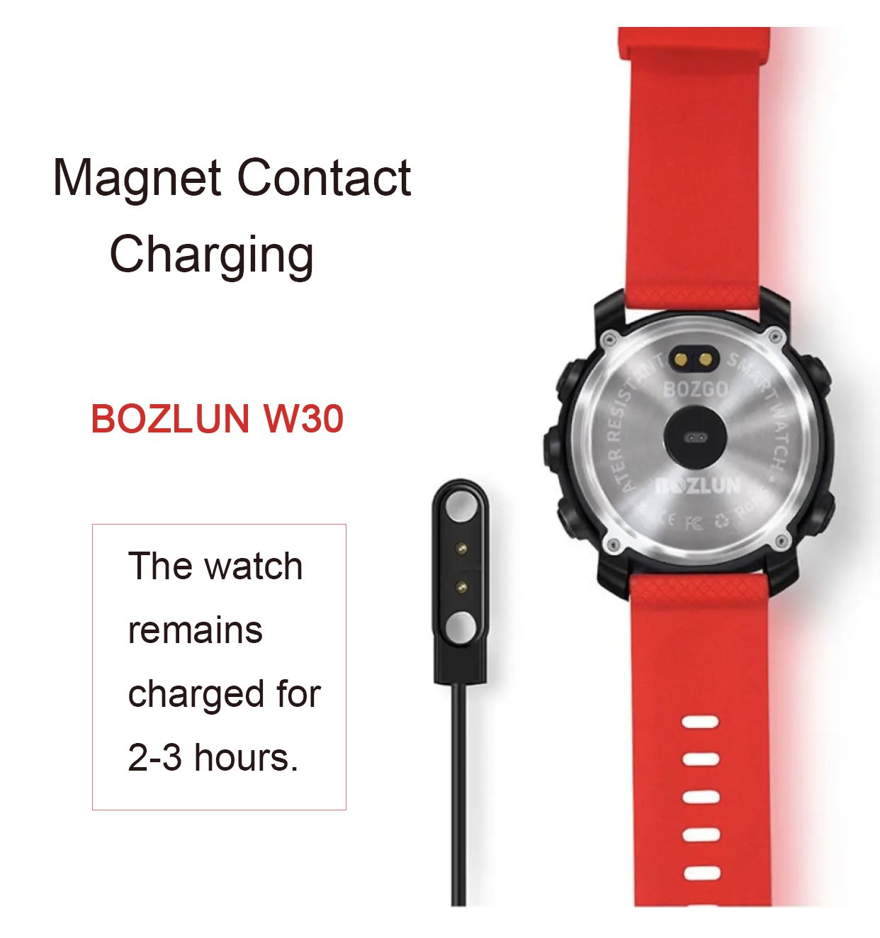 Bozlunofficial BOZLUN W30-W31 SmartWatch-Replacement Charger