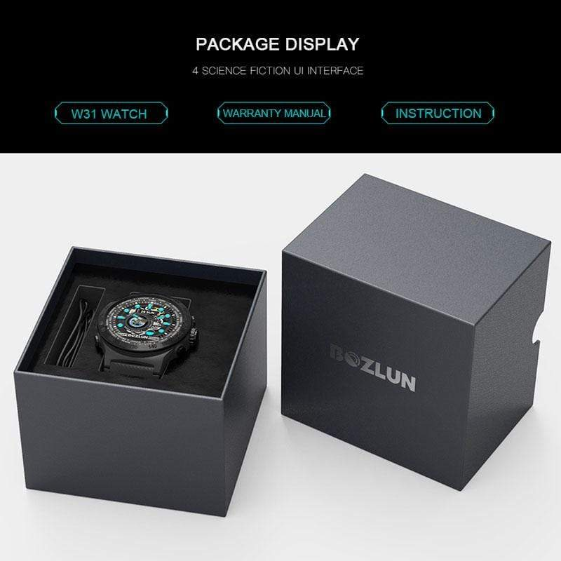 Bozlunofficial Bozlun W31 Color Screen Multifunctional SmartWatch