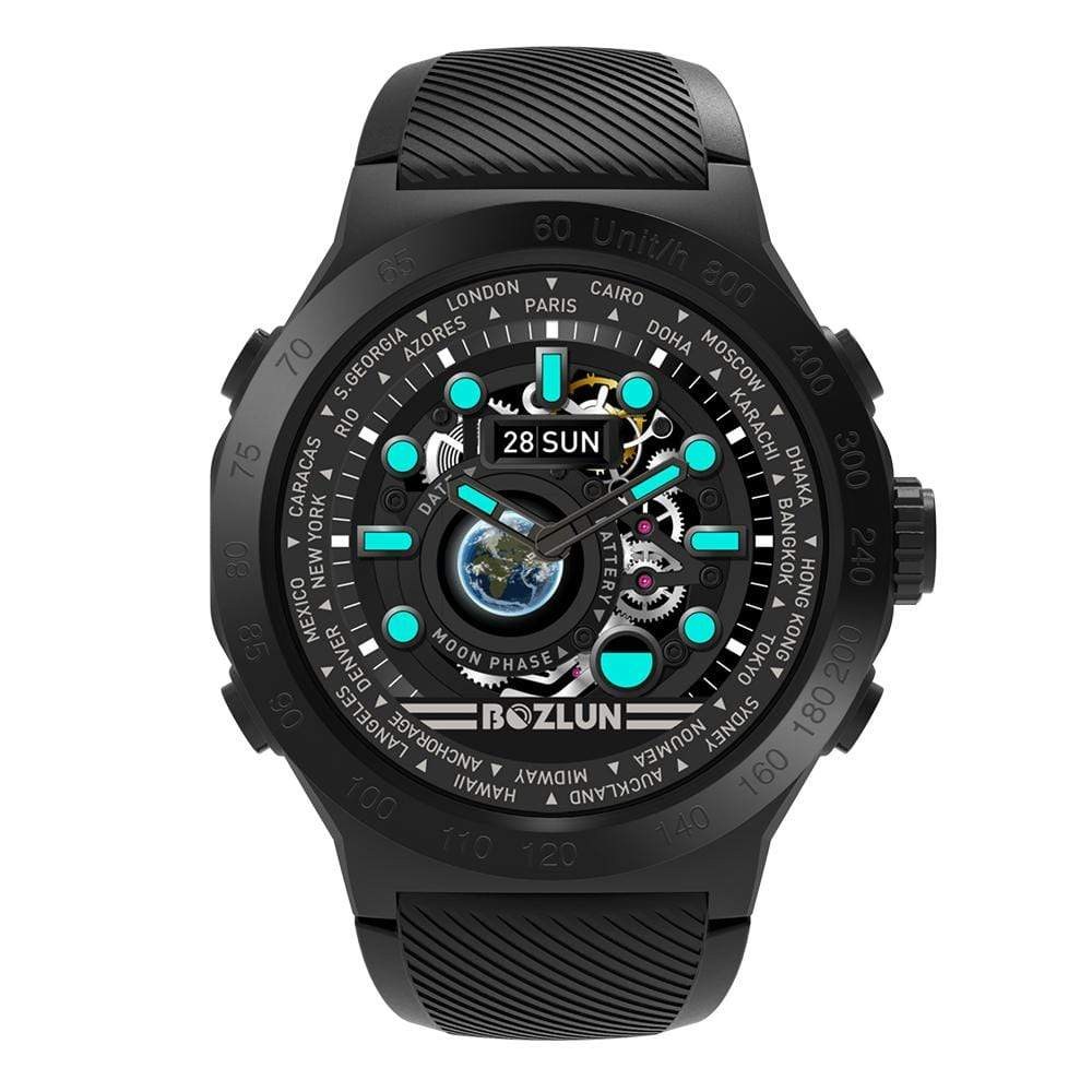 Bozlunofficial Black Bozlun W31 Color Screen Multifunctional SmartWatch