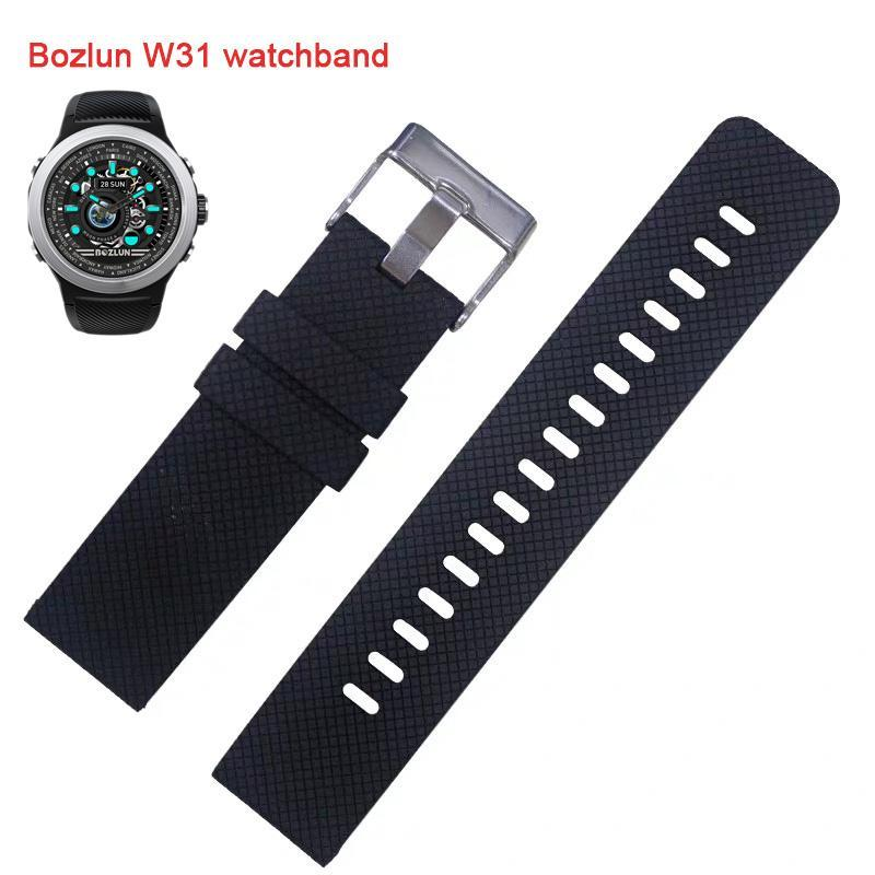 Bozlunofficial BOZLUN W31 Sportwatch-Replacement Band-Black