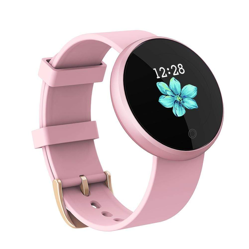 Bozlunofficial Women Watches Pink BOZLUN 2021 B36 Lady Smart Bluetooth Bracelet Sports Smartwatch