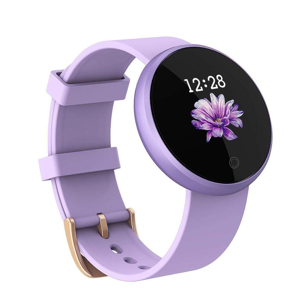 Bozlunofficial Women Watches Purple BOZLUN 2021 B36 Lady Smart Bluetooth Bracelet Sports Smartwatch