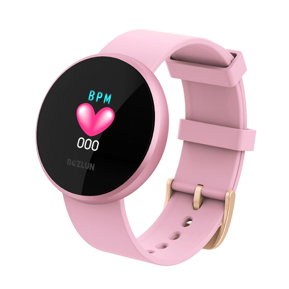 Bozlunofficial Women Watches BOZLUN 2021 Lady Smart Bluetooth Bracelet Sports Smartwatch B36
