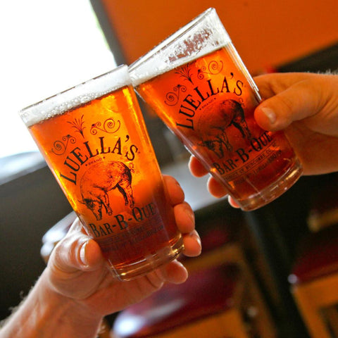 Set of 4 Luella's Pint Glasses