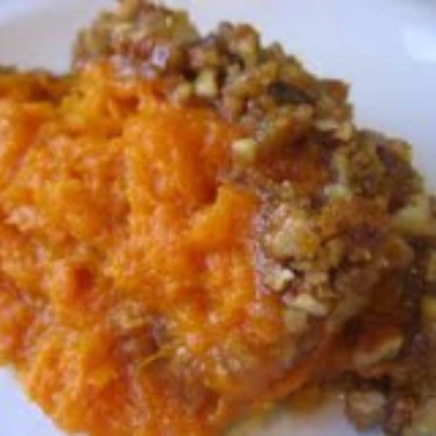 Katherine's Sweet Potato Casserole with Brown Sugar Crumb Topping