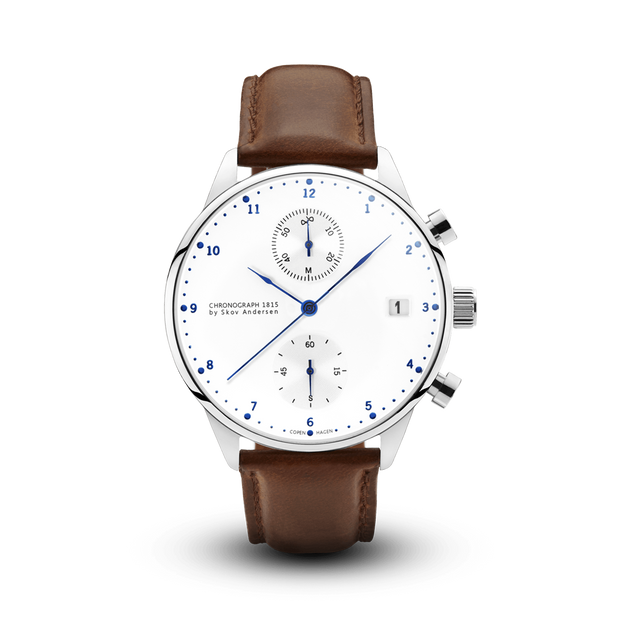 1815 Chronograph, Steel / White