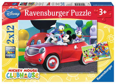 Puzzle Ravensburger - Mickey, Minnie & Co. 2 x 12 piezas