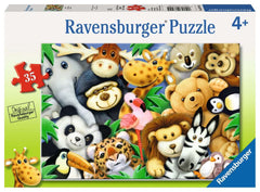 Puzzle Ravensburger - Softies. 35 piezas