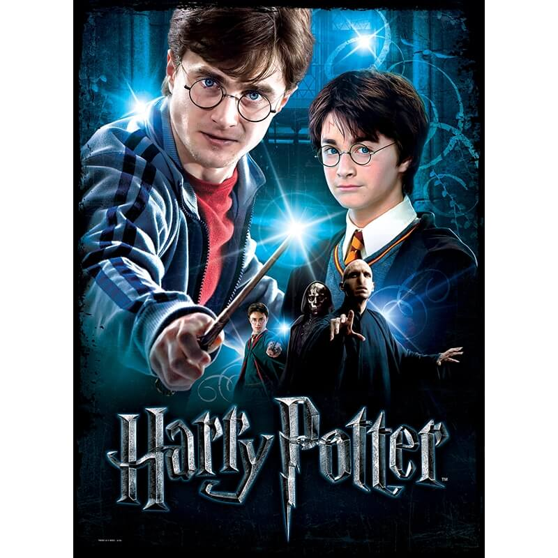 Puzzle Poster Wrebbit - Harry Potter  - 500 piezas