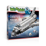 Puzzle 3D Wrebbit - Space Shuttle. Orbiter - 435 piezas