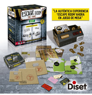 Juego de mesa Escape Room The Game 1-Diset-Doctor Panush
