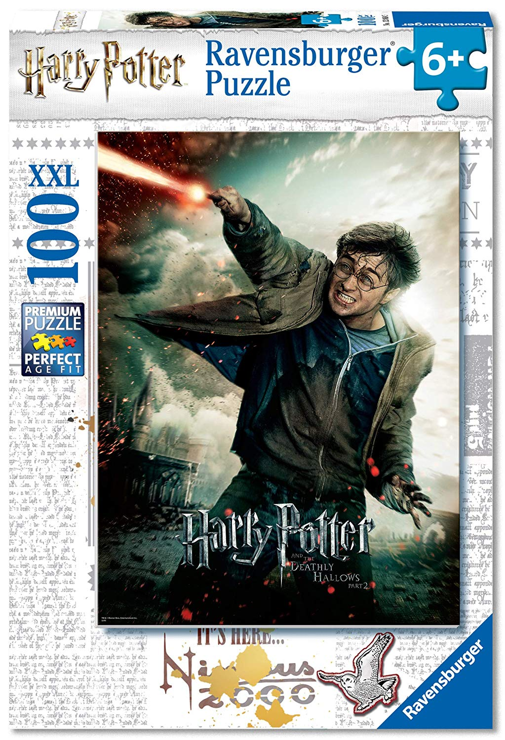 Puzzle Ravensburger - Harry Potter 100 piezas