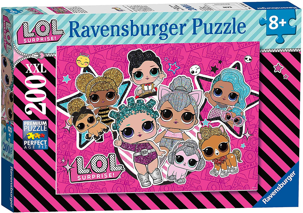 Puzzle Ravensburger 200 piezas - L.O.L. Girl Power