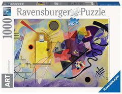 Puzzle Ravensburger - Kandinsky. Yellow, Red, Blue. 1000 piezas
