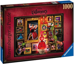Puzzle Ravensburger - Villainous: Queen of Hearts. 1000 piezas
