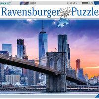 Puzzle Ravensburger - New York Skyline. De Brooklyn a Manhattan. 2000 piezas-Ravensburger-Doctor Panush
