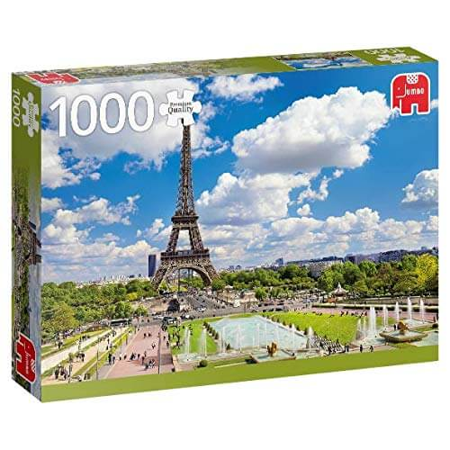 Puzzle Jumbo - Eiffel Tower in Summer, Paris. 1000 piezas