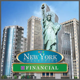 Puzzle 3D Wrebbit - New York. Financial  - 925 piezas