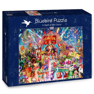 A Night at the Circus-Puzzle-Bluebird Puzzle-Doctor Panush