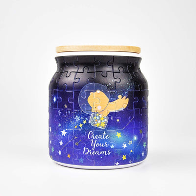 Puzzle Jar - Create your Dreams